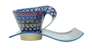 Cup with a tray (A41 D1)