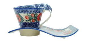 Cup with a tray (A41 D15)