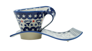 Cup with a tray (A41 D97)