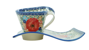 Cup with a tray (A41 D60)