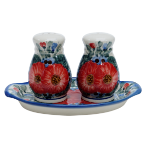 Salt and pepper shakers (A12 D28)