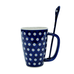 Cappuccino mug with a spoon (A20 D22)