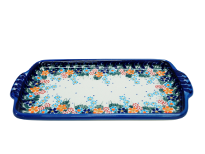 Tray with handles (A207 D23)